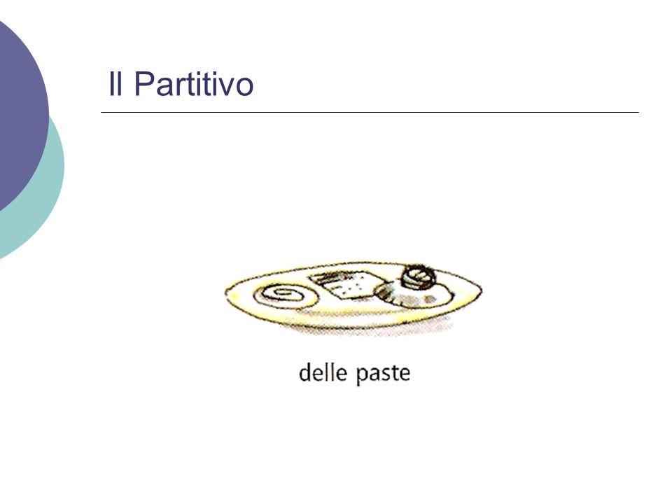 Il Partitivo