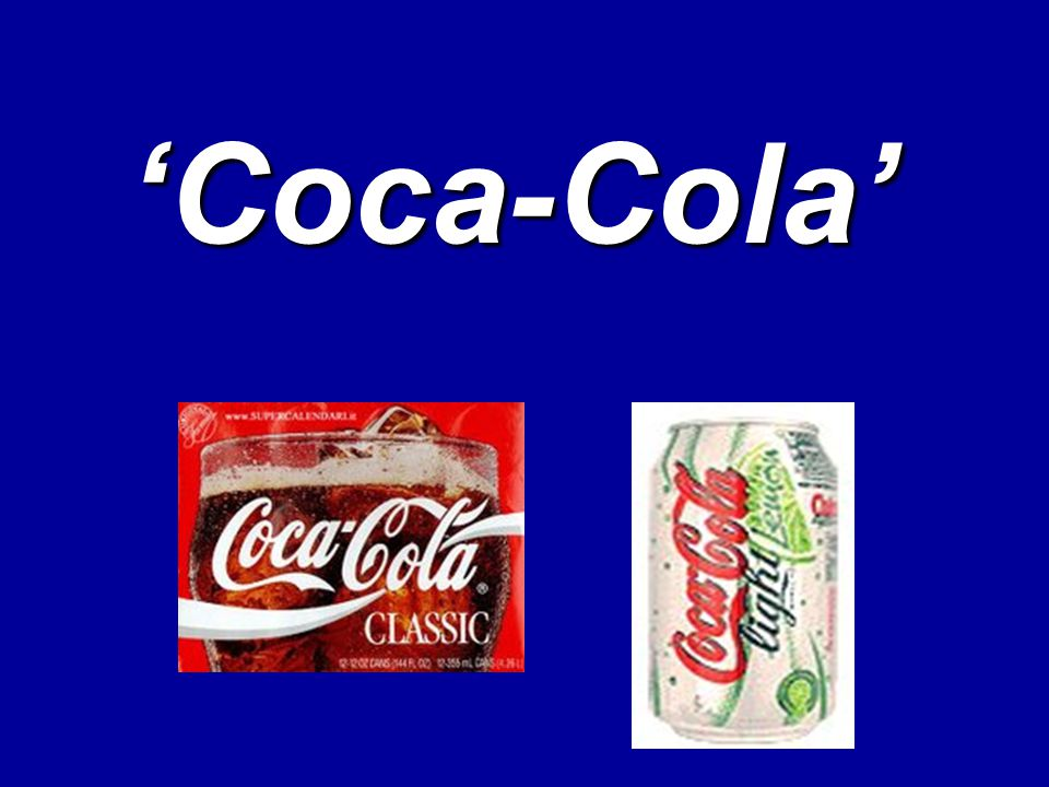 'Coca-Cola'