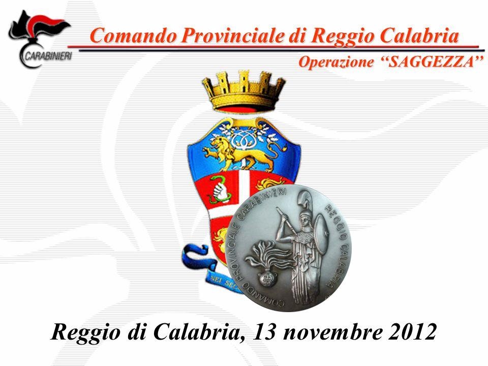 Reggio di Calabria, 13 novembre 2012