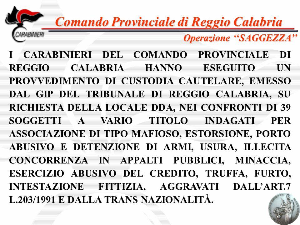 Comando Provinciale di Reggio Calabria