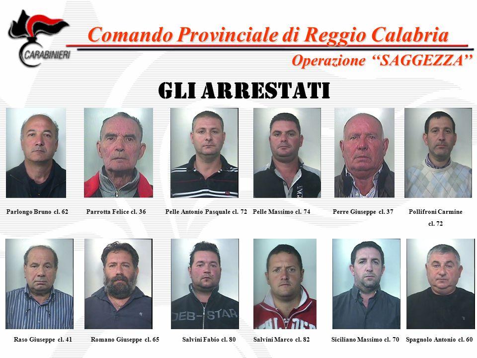 Comando Provinciale di Reggio Calabria Pelle Antonio Pasquale cl. 72