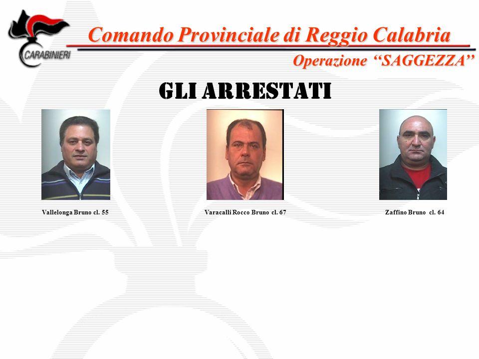 Comando Provinciale di Reggio Calabria Varacalli Rocco Bruno cl. 67