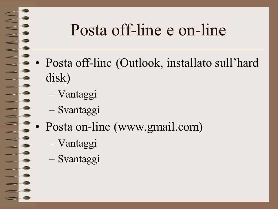Posta off-line e on-line