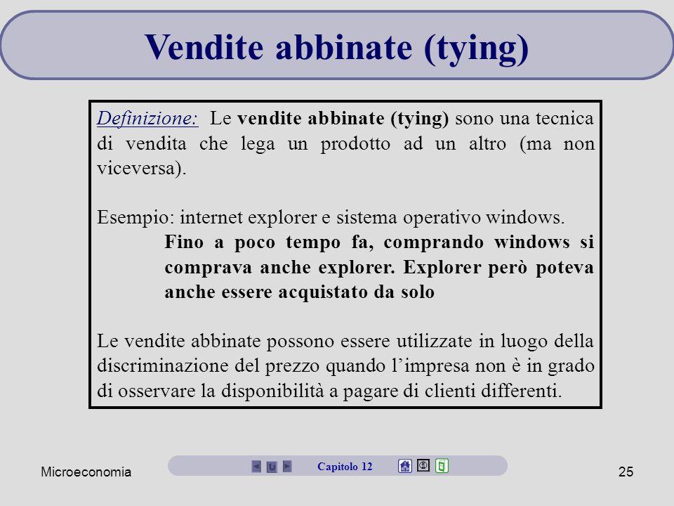 Vendite abbinate (tying)