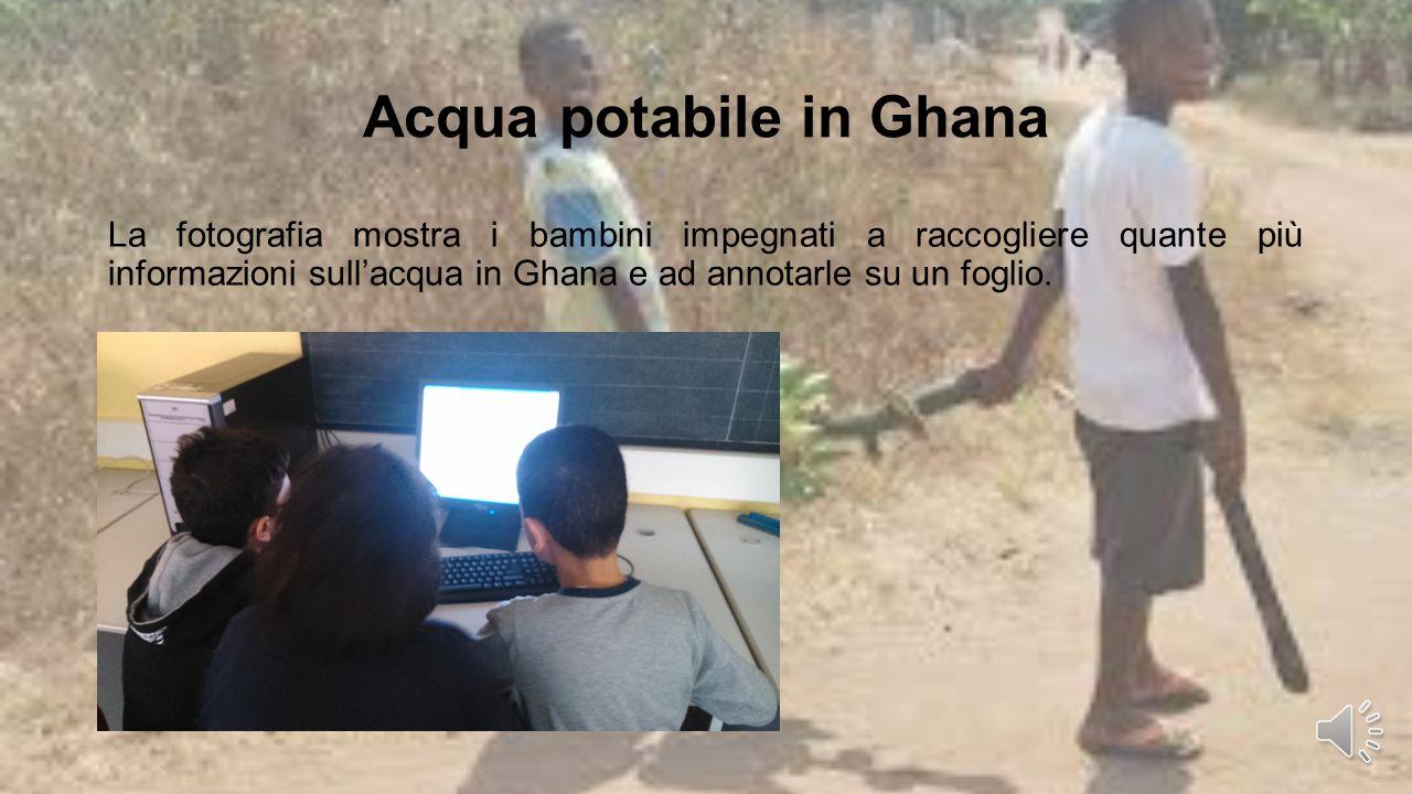 Acqua potabile in Ghana