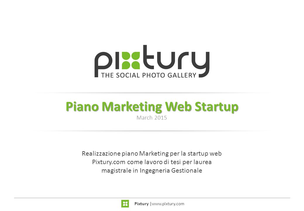 Piano Marketing Web Startup March 2015