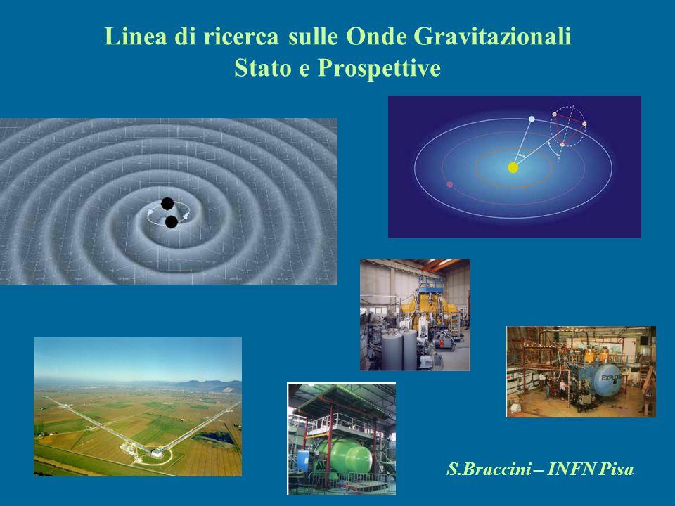 Linea di ricerca sulle Onde Gravitazionali Stato e Prospettive