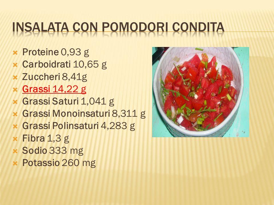 Insalata con pomodori Condita