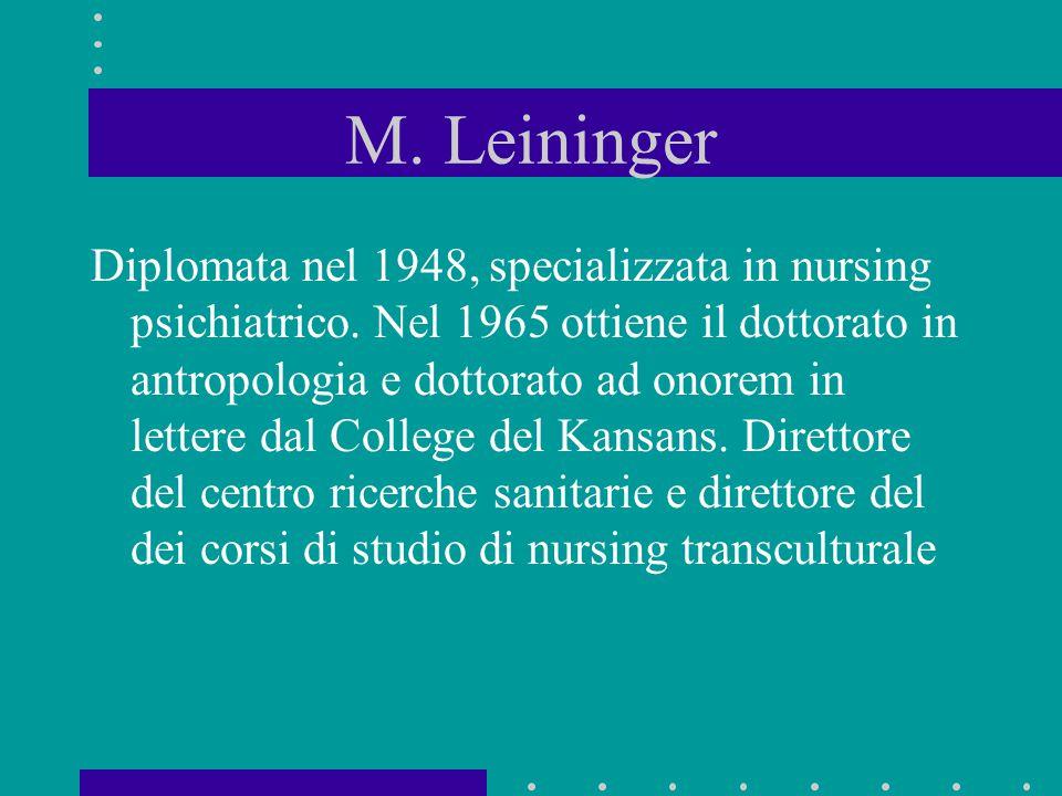 M. Leininger