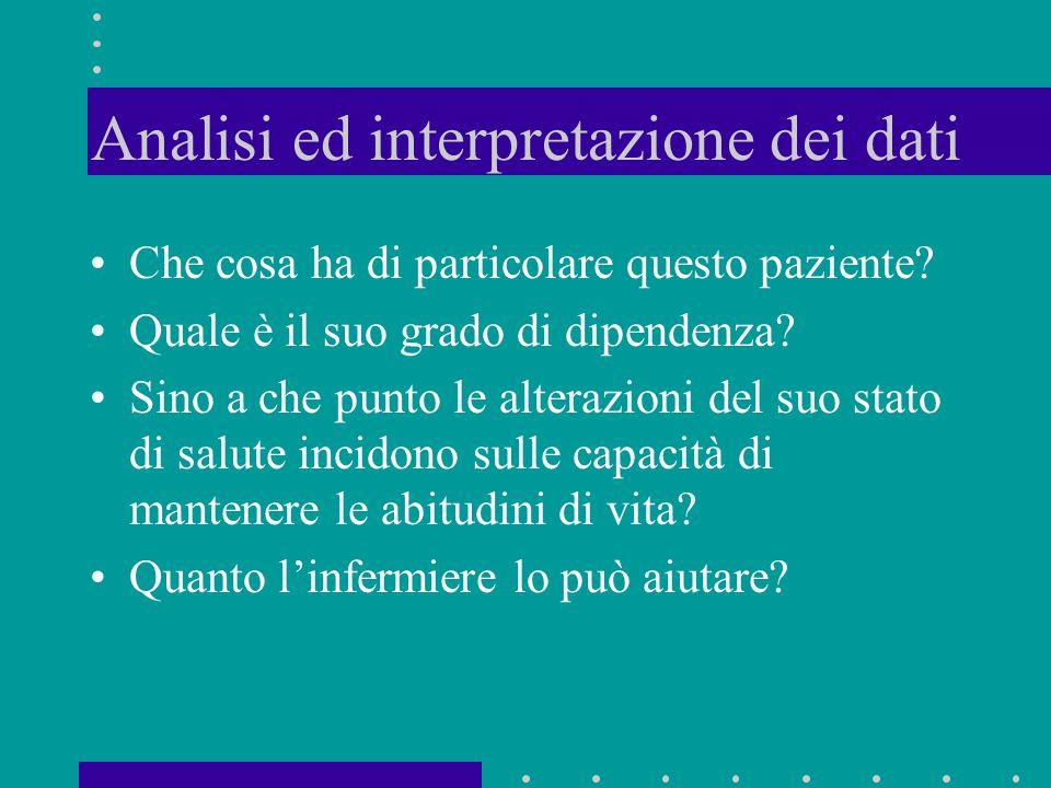 Analisi ed interpretazione dei dati