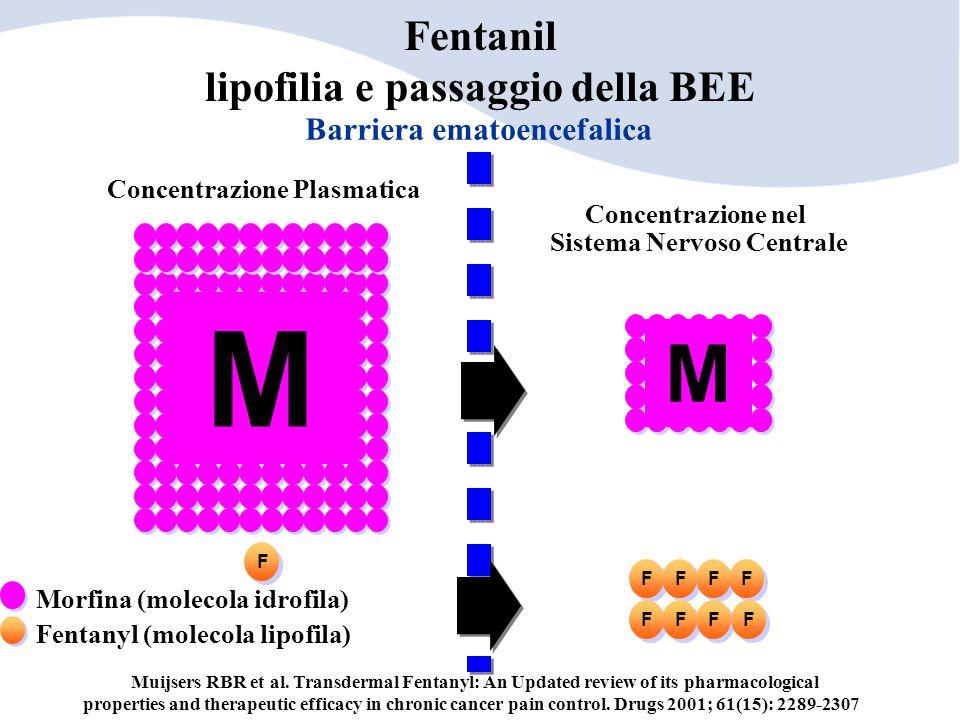 Fentanil lipofilia e passaggio della BEE