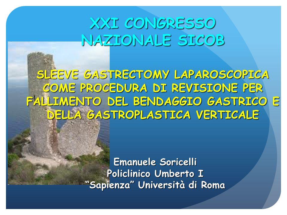XXI CONGRESSO NAZIONALE SICOB Sapienza Università di Roma