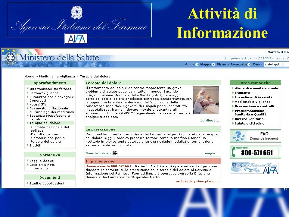 Attività di Informazione