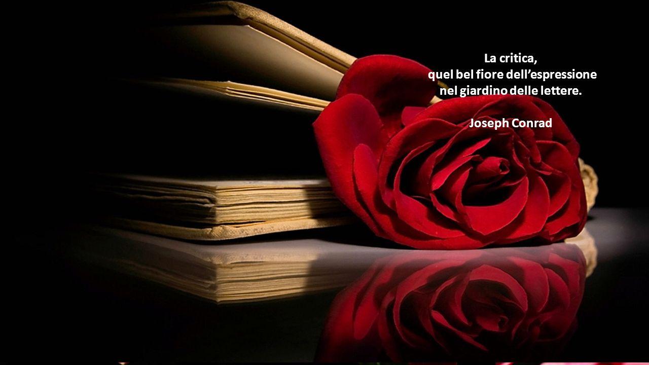 quel bel fiore dell'espressione nel giardino delle lettere.