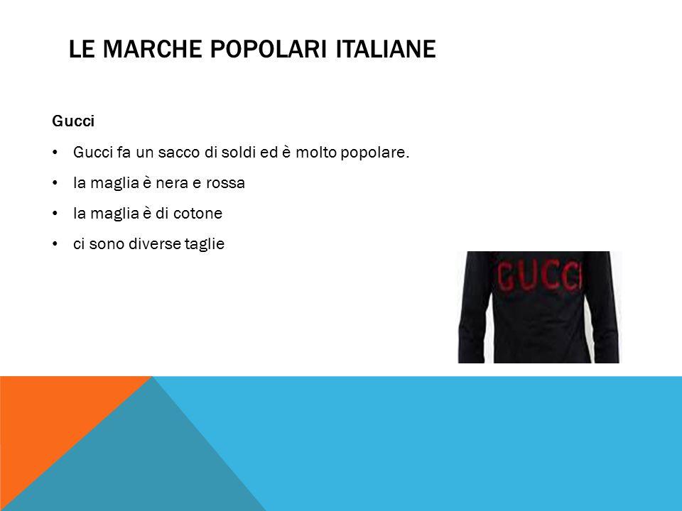 Le marche popolari italiane