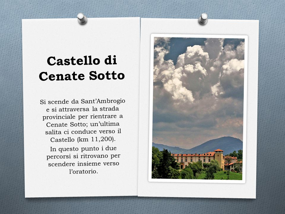 Castello di Cenate Sotto