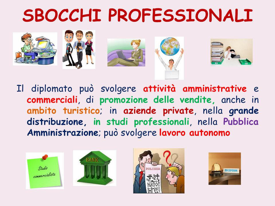 SBOCCHI PROFESSIONALI
