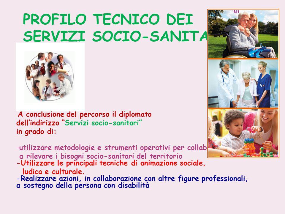 PROFILO TECNICO DEI SERVIZI SOCIO-SANITARI