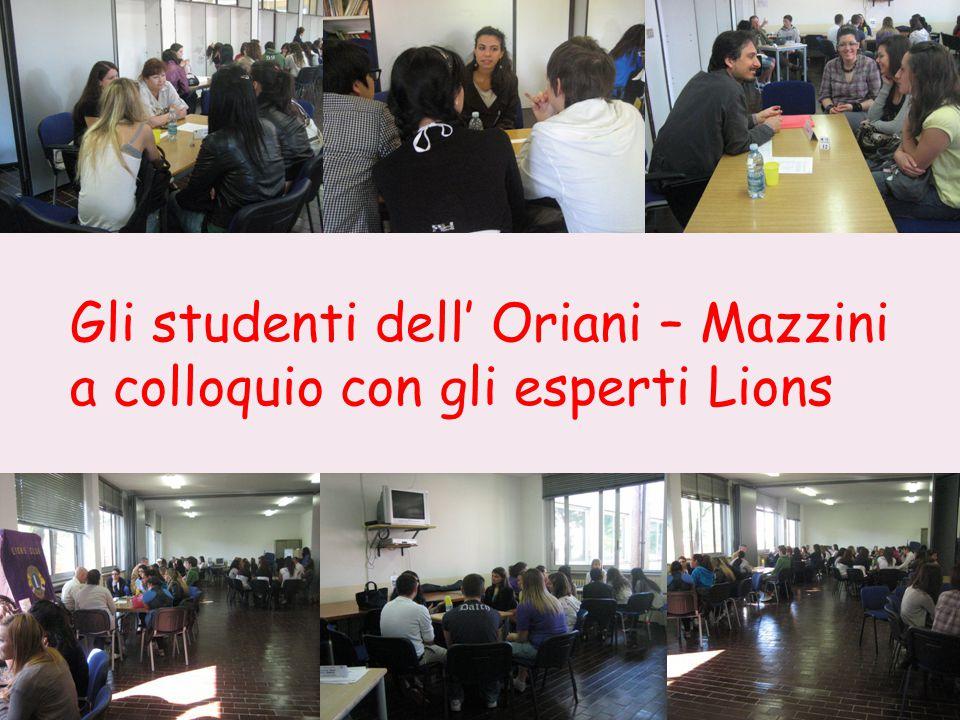 Gli studenti dell' Oriani – Mazzini