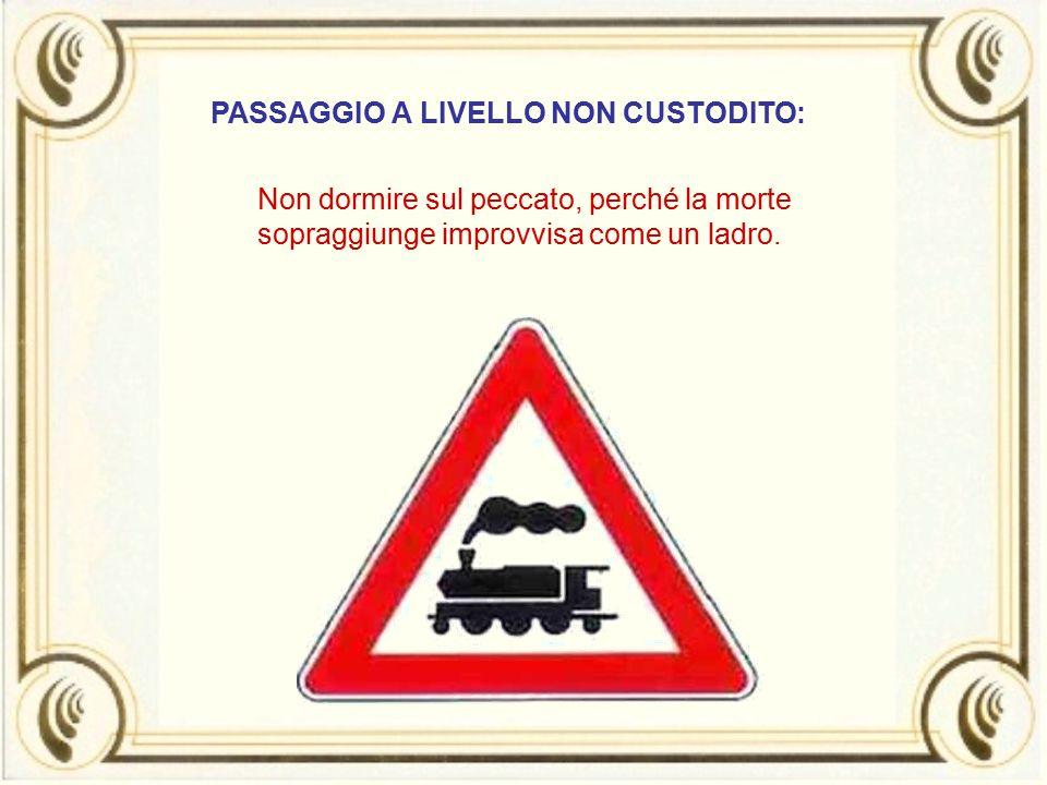 PASSAGGIO A LIVELLO NON CUSTODITO: