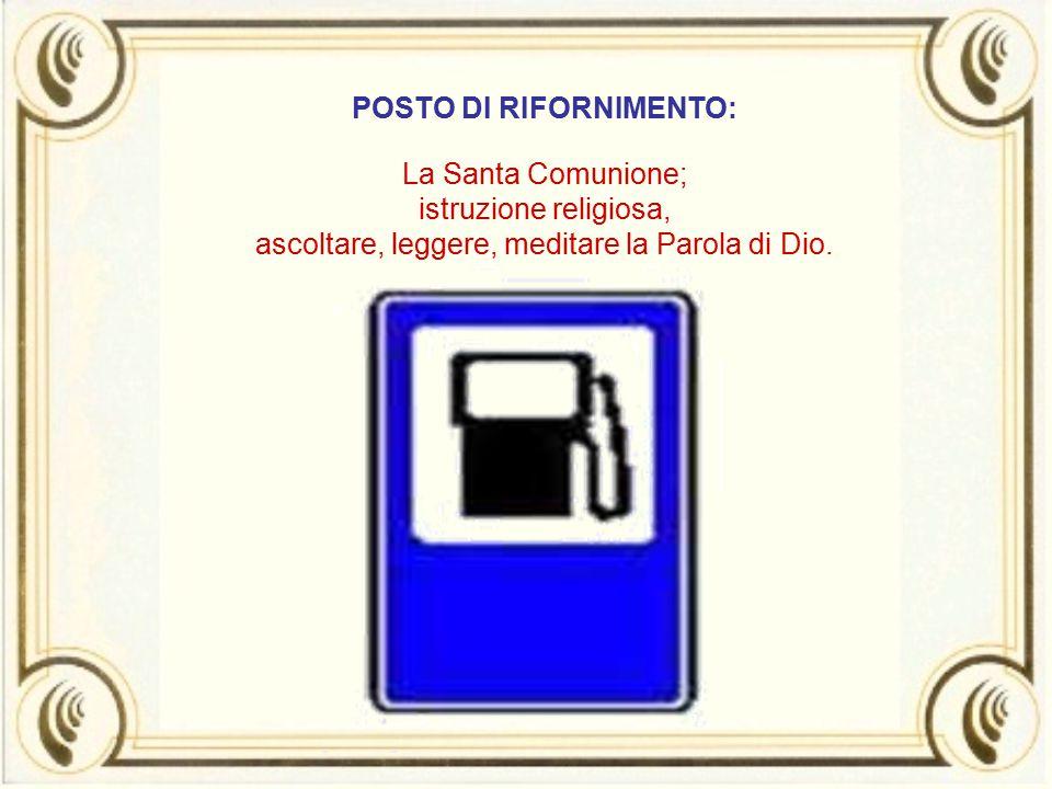 POSTO DI RIFORNIMENTO: