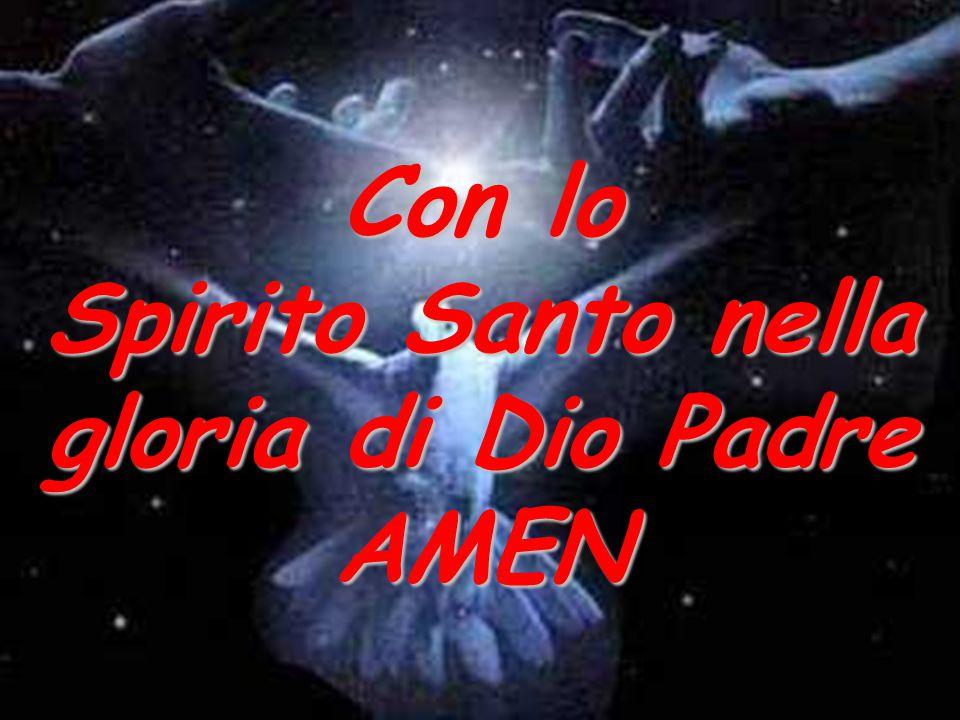 Spirito Santo nella gloria di Dio Padre