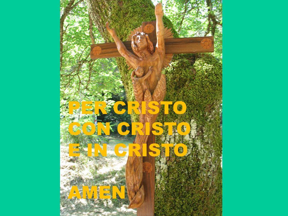 PER CRISTO CON CRISTO E IN CRISTO AMEN