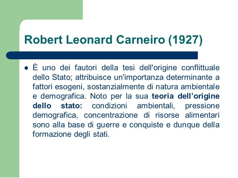 Robert Leonard Carneiro (1927)