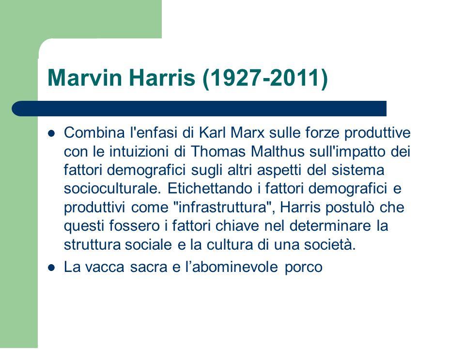 Marvin Harris (1927-2011)