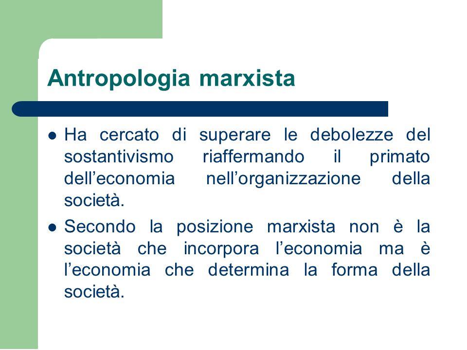Antropologia marxista