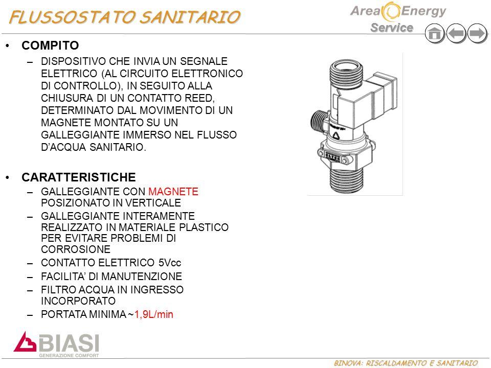 FLUSSOSTATO SANITARIO