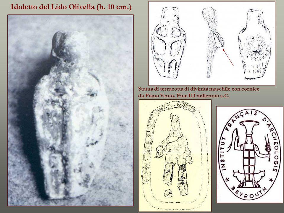 Idoletto del Lido Olivella (h. 10 cm.)