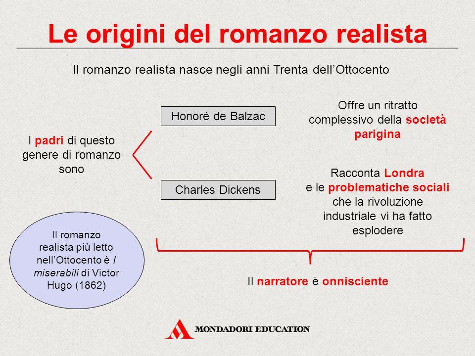 Le origini del romanzo realista