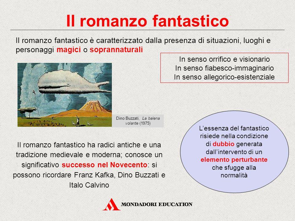 Il romanzo fantastico Il romanzo fantastico è caratterizzato dalla presenza di situazioni, luoghi e personaggi magici o soprannaturali.