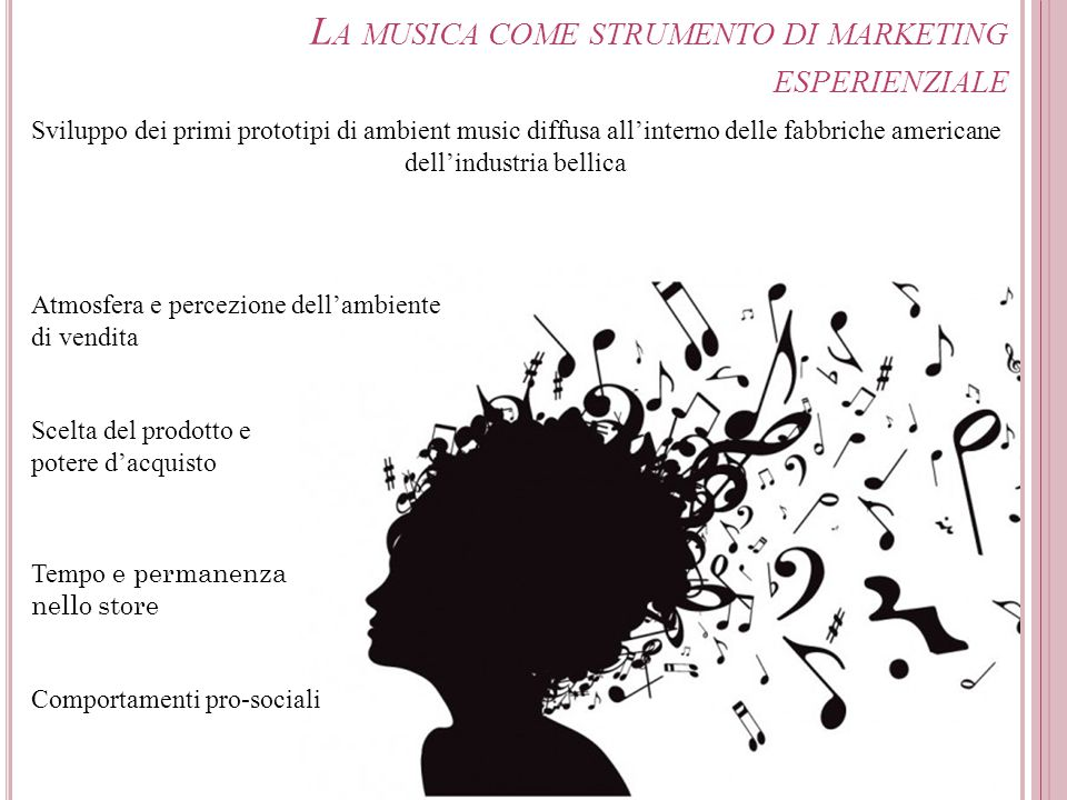 La musica come strumento di marketing esperienziale