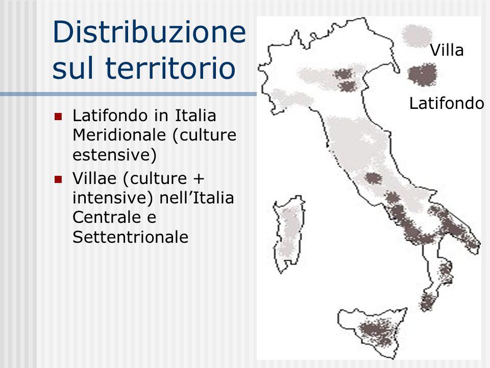 Distribuzione sul territorio
