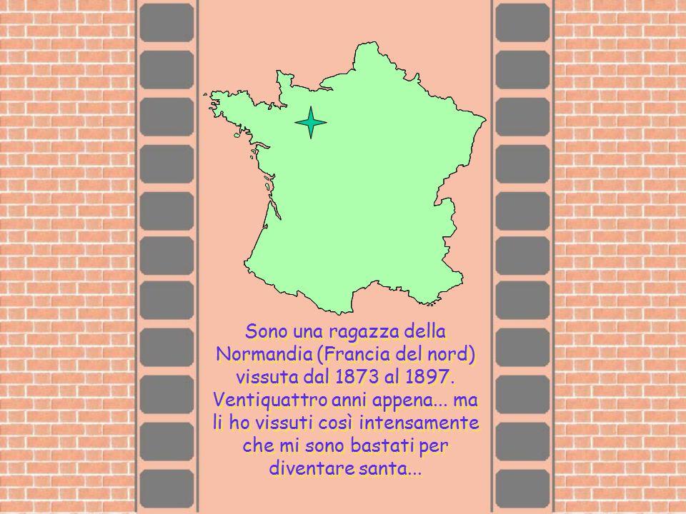 Sono una ragazza della Normandia (Francia del nord) vissuta dal 1873 al 1897.