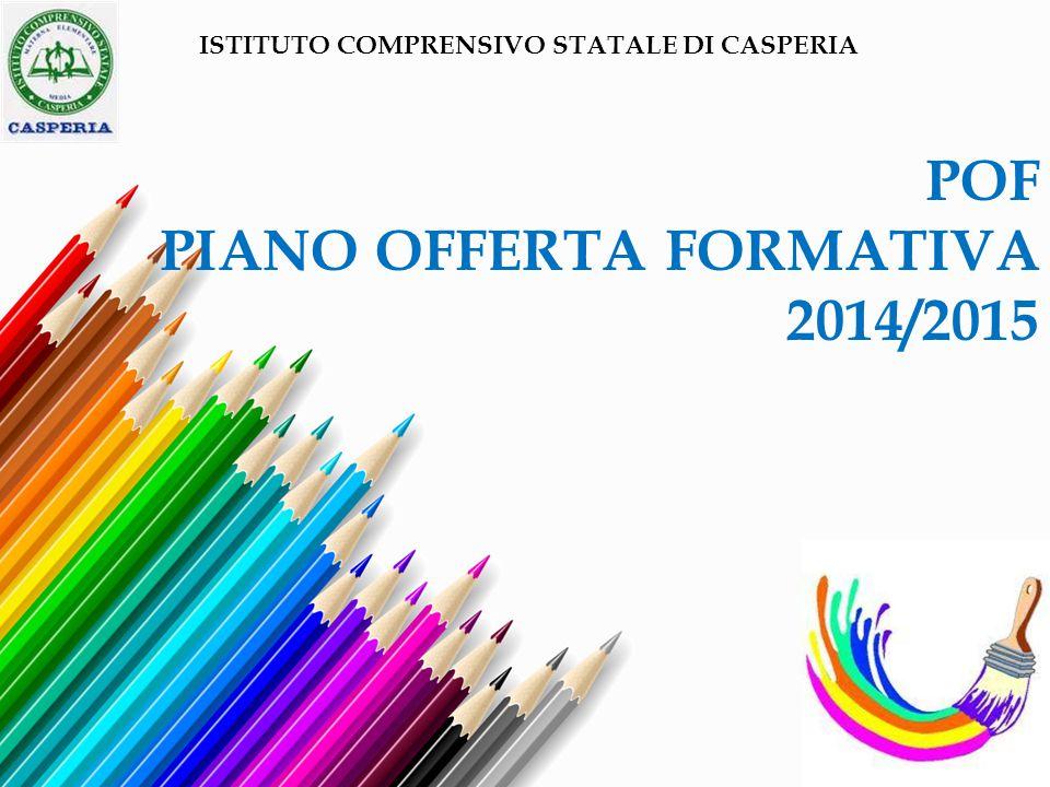 POF PIANO OFFERTA FORMATIVA 2014/2015