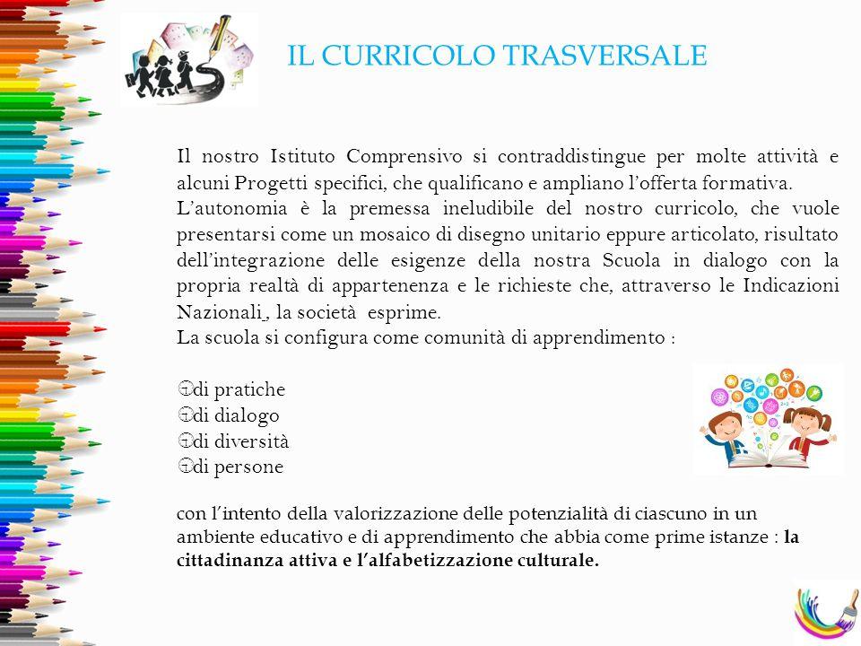 IL CURRICOLO TRASVERSALE