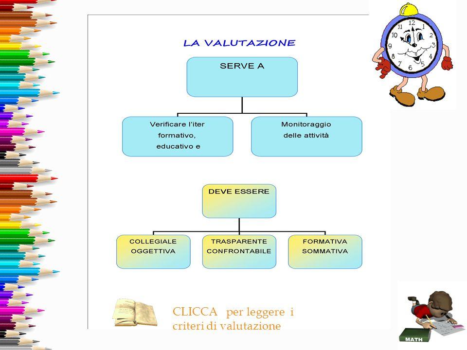 CLICCA per leggere i criteri di valutazione