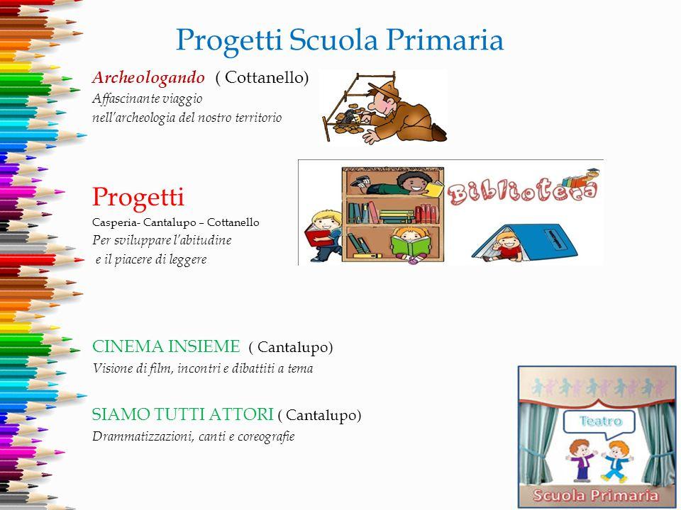 Progetti Scuola Primaria