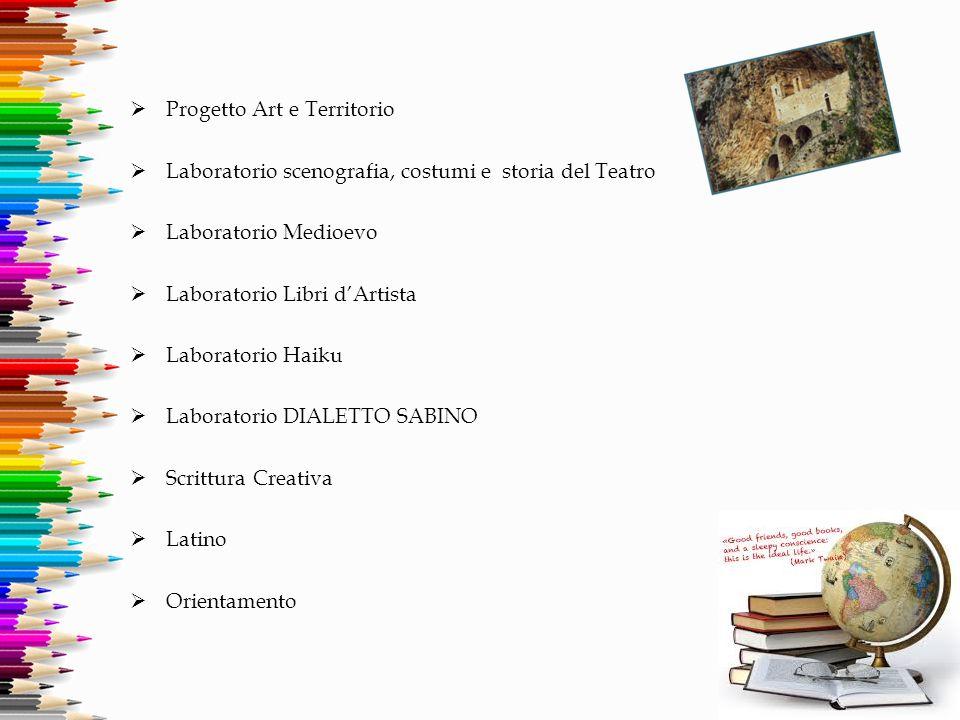 Progetto Art e Territorio