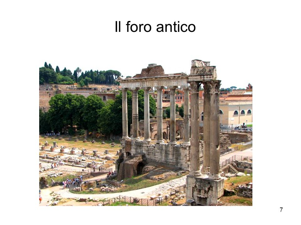Il foro antico