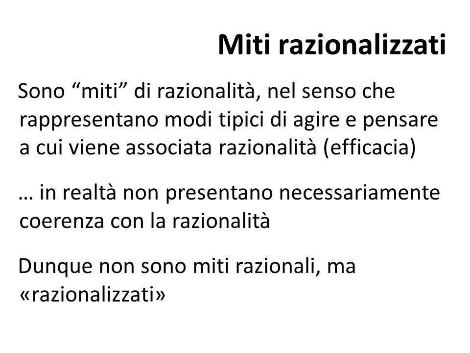 Miti razionalizzati