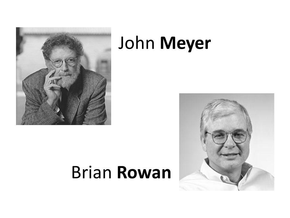 John Meyer Brian Rowan