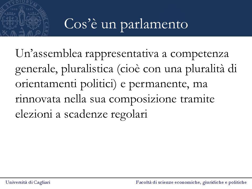 Cos'è un parlamento