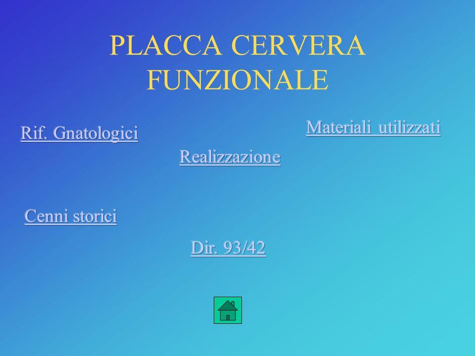 PLACCA CERVERA FUNZIONALE