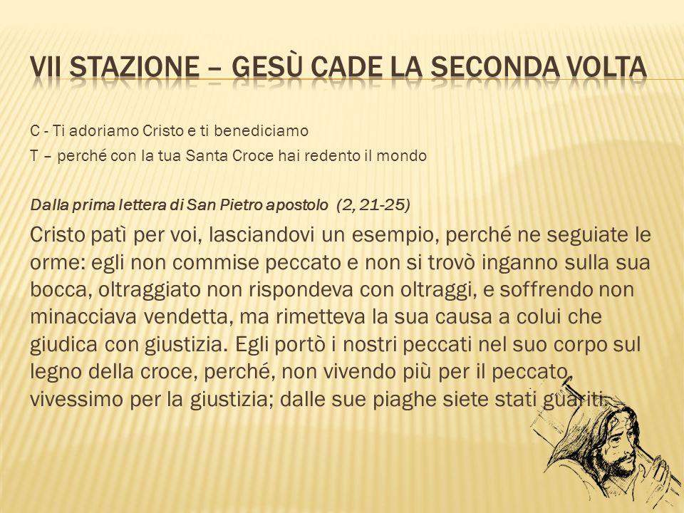 Top VIA CRUCIS – iL disagiO giovanilE - ppt scaricare KL12