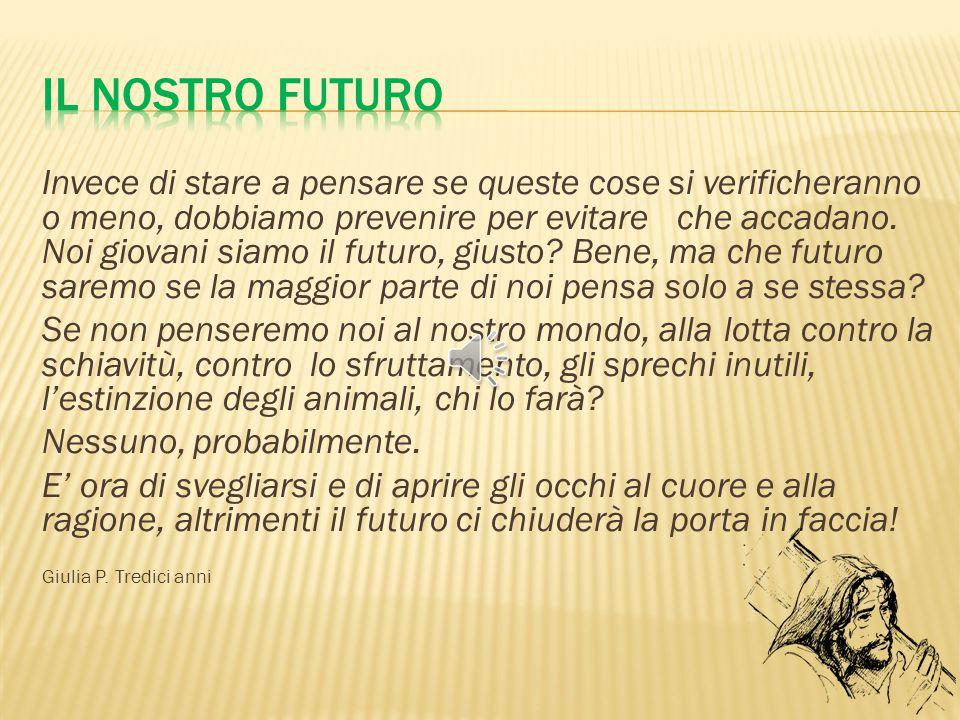 Il nostro futuro