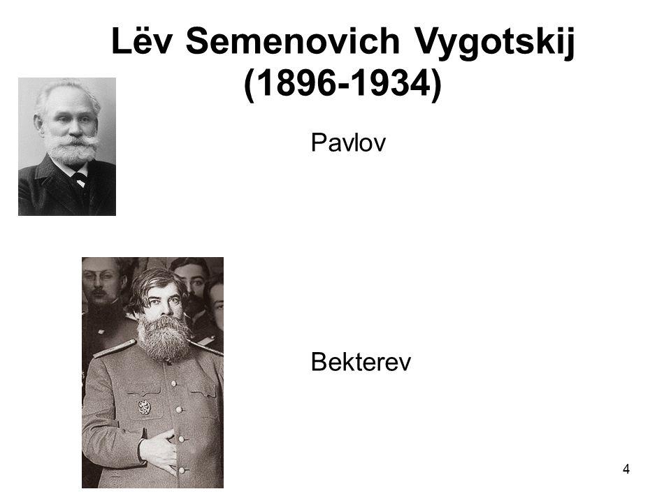 Lëv Semenovich Vygotskij (1896-1934)